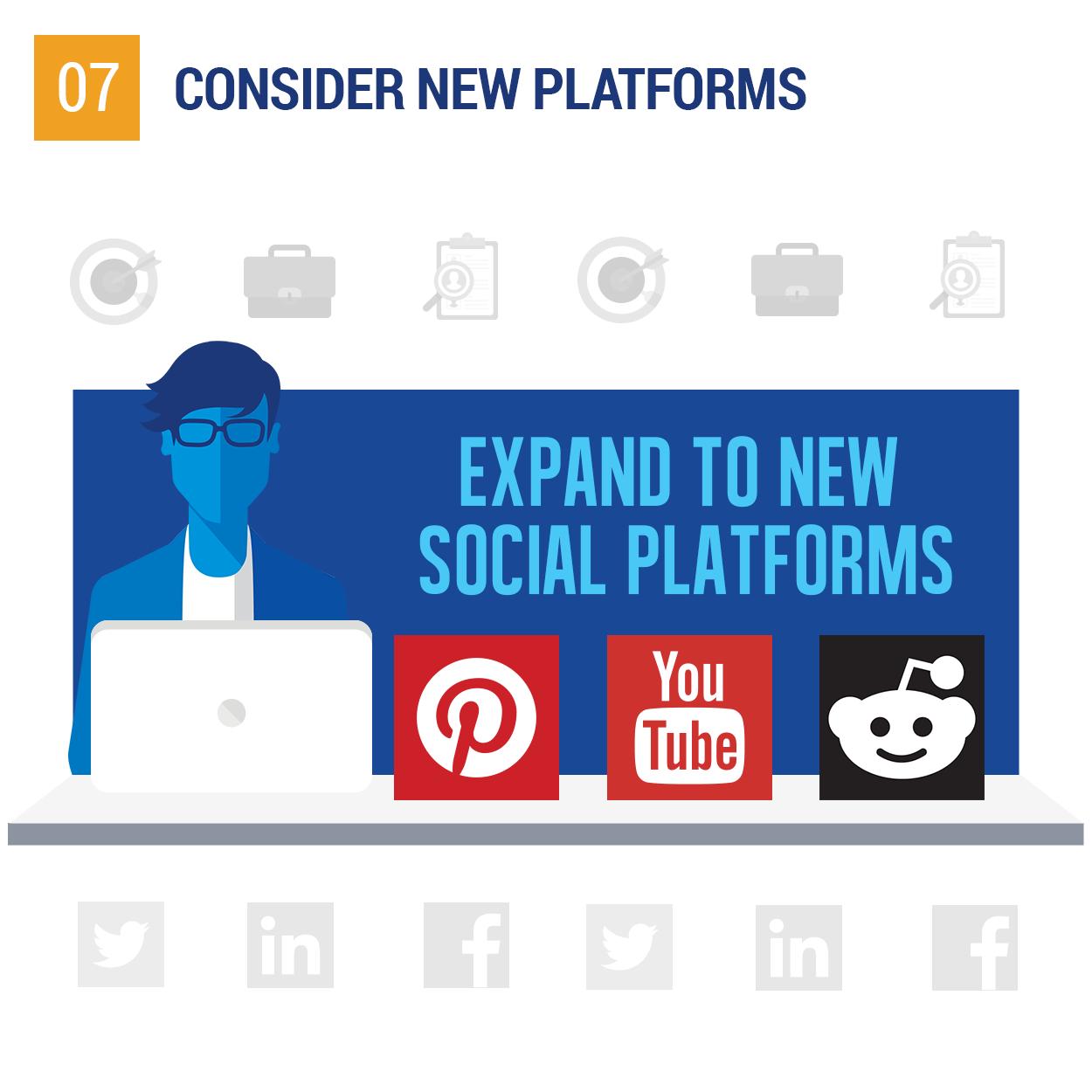 Consider new platforms