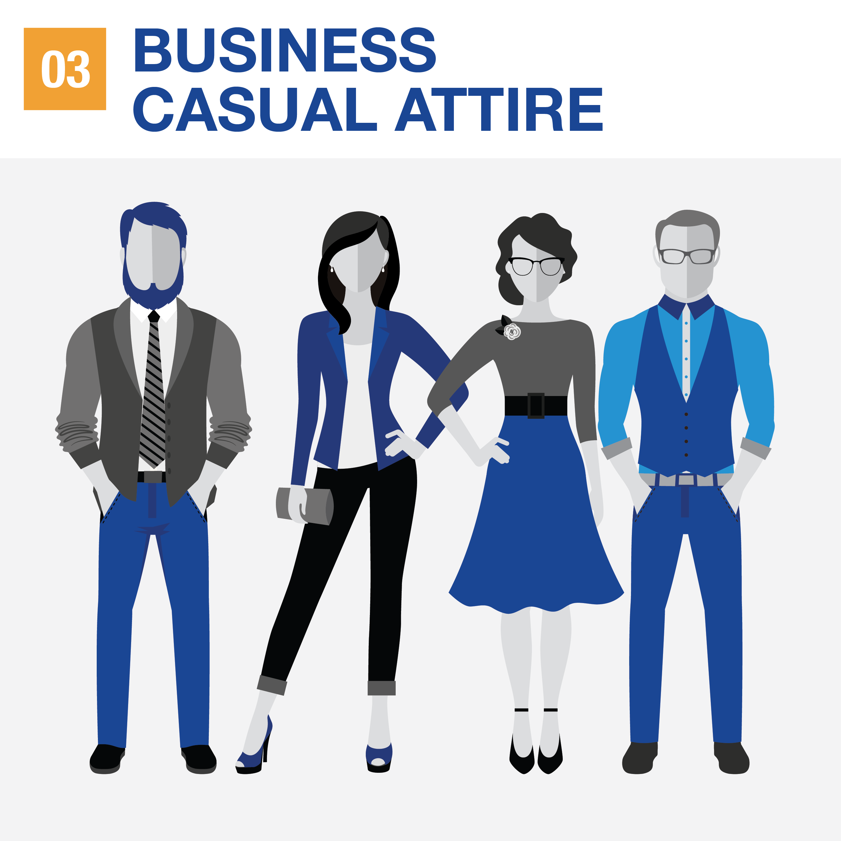 6df4465e613 Your guide to the different types of business attire