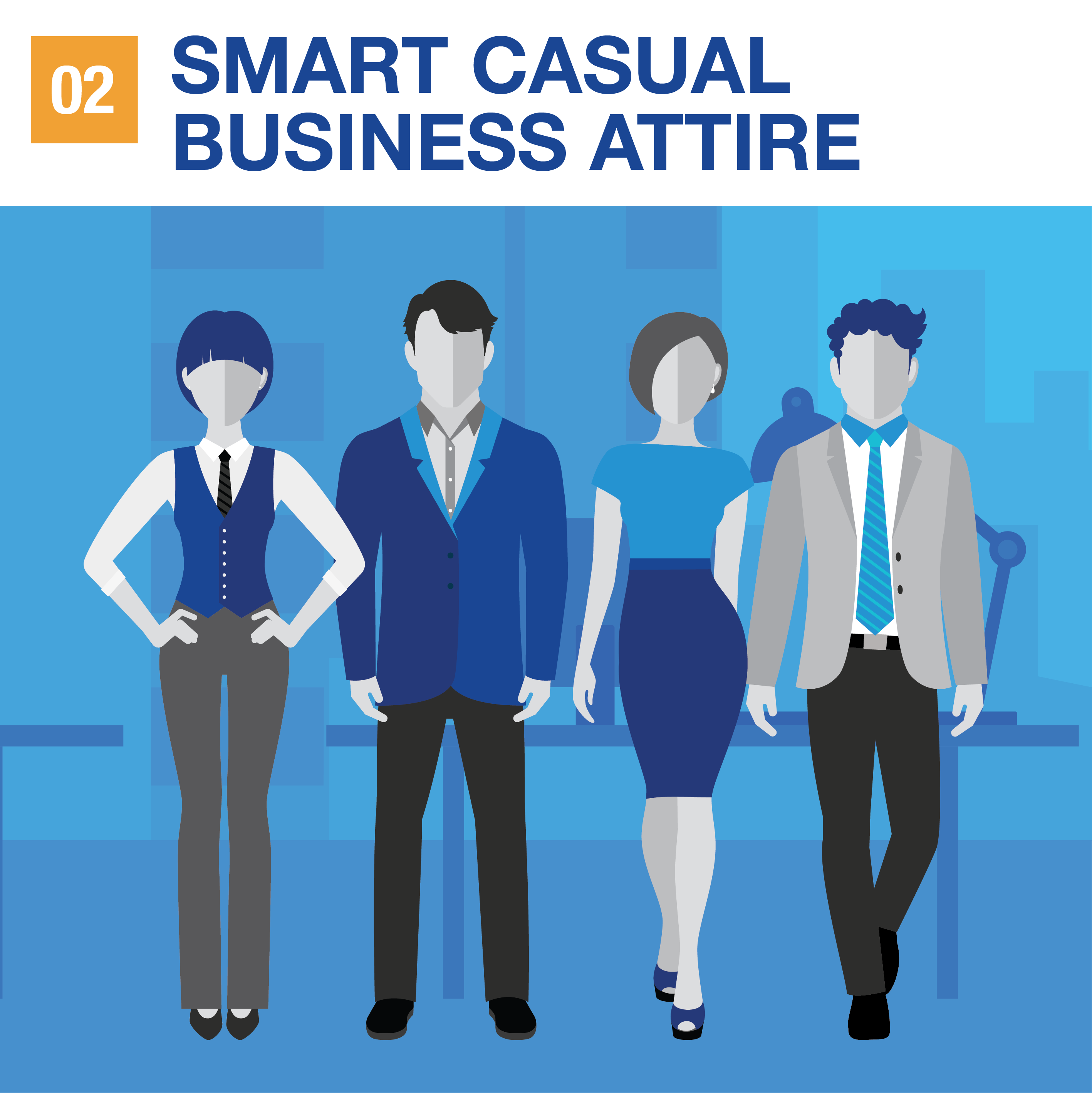 aa56a052444 Your guide to the different types of business attire
