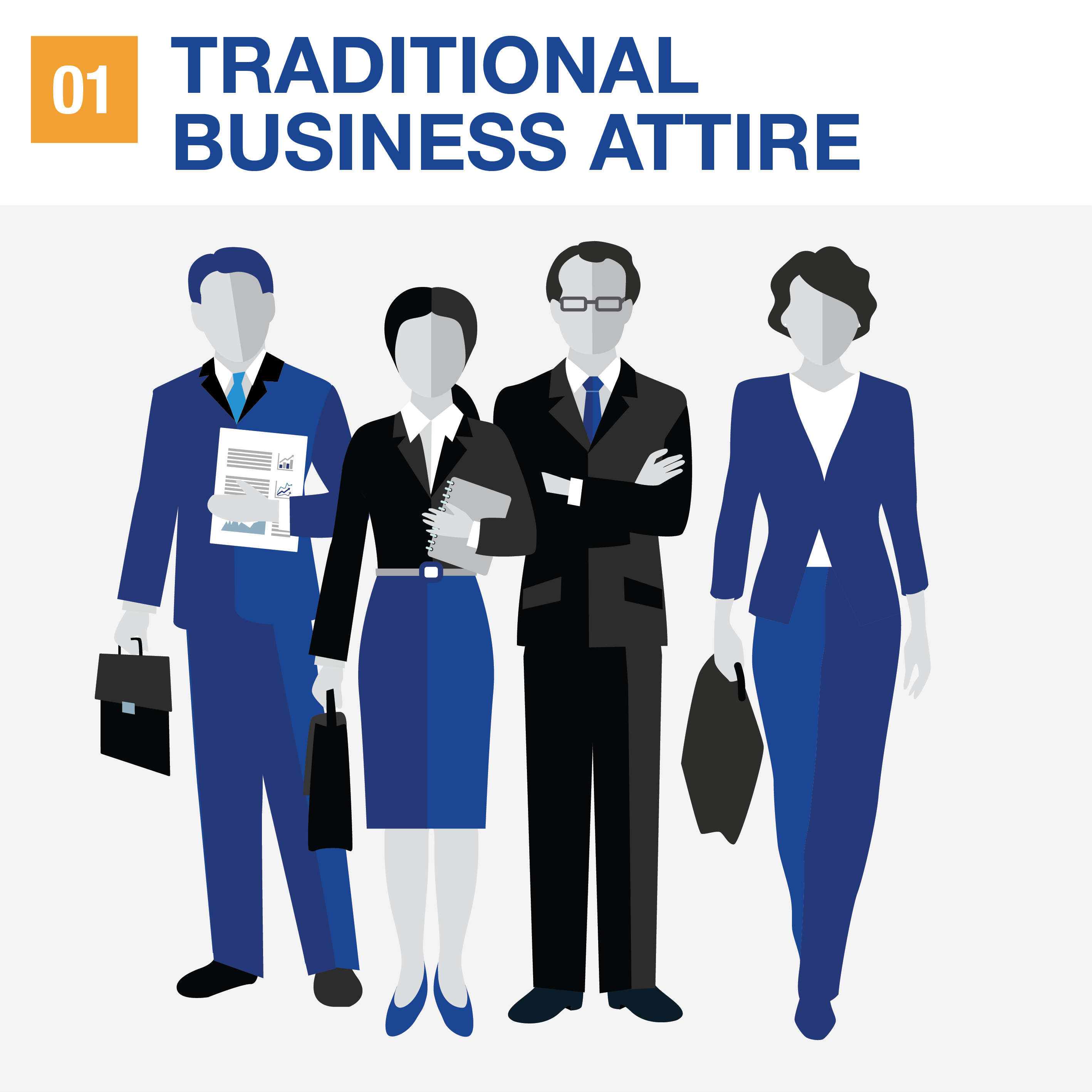 Your Guide To The Different Types Of Business Attire