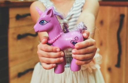 The legend of the purple unicorn